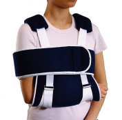 Universal Shoulder & Arm Immobiliser Sling & Swathe - Recommended for effective, comfortable and supportive shoulder and / or arm immobilisation following injury or surgery.