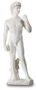 White David Figurine Statue Reproduction
