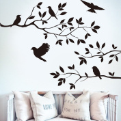 Wall Adhesive Decal - Garden Birds