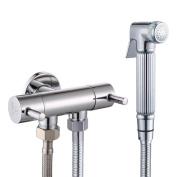KES K1012+LP903 Water-saving High Pressure Handheld Bidet Sprayer for Toilet, Chrome