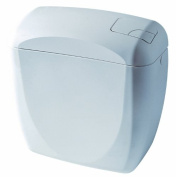 Siamp Rondo 31501010 Close-Coupled Toilet Cistern Double-Volume with Lateral Water Supply Connector