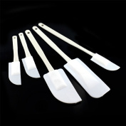 5x Plastic Mixing Spatulas Cooking baking Cake Set Kitchen Utensils Icing Tools Shopmonk
