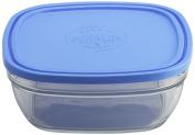 Duralex Glass Food Storage Container 23 cm, transparent, 23 cm