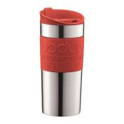 Bodum Stainless Steel Vacuum Travel Mug 0.35L / 350ml Red