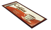 Coffee Always Fresh design bar runner great for home bar shop cocktail party advertising tool bar mat