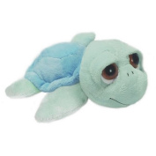 23cm Blue Turtle Soft Baby Toy Plush Beanie - Lil Peepers