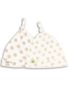 The Essential One - Unisex Pack of 2 Baby Hats ESS53