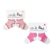 Sock Ons 0-6 Months - TWIN PACK