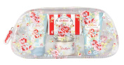 Cath Kidston Blossom Bath and Body Gift Bag Contains Shower Gel 30 ml/ Body Lotion 30 ml/ Bath Salts 45 g/ Soap 25 g/ Face Cloth