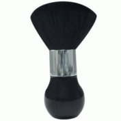 Jet Large Dust Brush Tall Handle Black