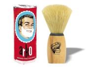 ARKO SHAVING SOAP STICK & A MEDIUM SIZE BOAR BRISTLE SHAVING BRUSH ***FREE UK DELIVERY***