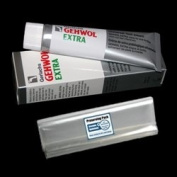 Gerlach's GEHWOL EXTRA footcream kit with preserving pack / Universal foot cream with broad-spectrum efficacy for daily intensive care / Contains 75ml / Comes with preserving pack / Dermatologically tested / Made in Germany
