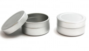 5x 10ml Aluminium Lip Balm Pots 10ml Capacity Empty Small Mini Cosmetic/Lip Gloss/Nail Art Pots Tins Jars