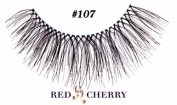 Red Cherry False Eyelashes Style #107