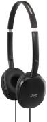 JVC HA-S160-B-E FLATS Lightweight Headphones - Black