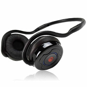 JUSTOP JSound 10 Bluetooth Wireless Stereo Headphones / Headset With Built-in MIC, Bluetooth V2.1+EDR Supports A2DP, Noise Cancellation, Up to 20 Hours Play Time, Handsfree Feature for mobiles, for use with Apple iTouch, iPad, iPhone, HTC, Sony, Nokia, ..