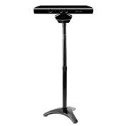 Invero® Floor Mount Bracket Stand Clip for Microsoft Xbox 360 Kinect Sensor - Black