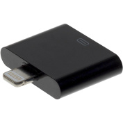 Charge It Apple Lightning to 30-Pin Adapter for iPhone 5, iPod Touch 5, iPad/iPad Mini - Black