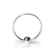 Blue Banana BCR Style Nose Ring 1.0 x 9mm