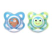 Tommee Tippee Funky Face Latex Soothers 6 - 12m