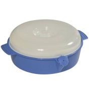 Patterson Medical 20cm Diameter Keep Warm Dish with Lid
