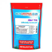 Hectic Sports Zma® 750mg Officially Licenced One a Day Patented Formula - Pack of 60 Capsules