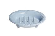 Au Bain de Marie Small Soap Dish, Lavender Blue