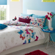 Catherine Lansfield Butterfly Fusion King Size Duvet Quiltset Multi