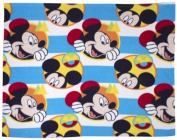 Disney Mickey Mouse Boo Rotary Fleece Blanket, Multi-Colour