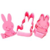 CY-Buity Fondant Cake Cookie Cutter Mould Mould Cartoon DIY Fun Miffy Rabbit