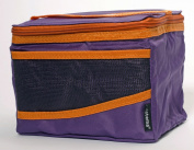 Sistema Maxi Fold Up Insulated Lunch Cooler Bag, Purple