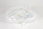 Delfinware Circular Drainer, White