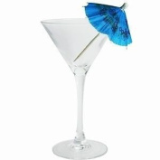 Finishes Touches Party Store Blue Cocktail Umbrella's Tropical Cocktails/ Drinks