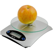 Vivo© 1g-5KG Digital LCD Glass Electronic Kitchen Household Weighing Food Cooking Scales Postal