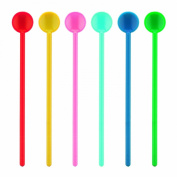 Bodum Bistro Stirring Spoons, Large, Pack of 6, Assorted Colours