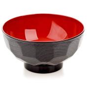 Black Lacquer Miso Soup Bowl