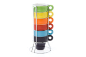 PT Rainbow PT0739 Espresso Cups with Stand Rainbow