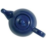 London Pottery 10 Cup Globe Teapot Cobalt Blue