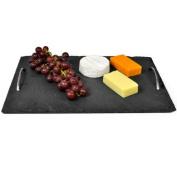Slate Presentation Tray with Handles 40 x 28cm | Display Platter, Presentation Board