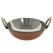 Copper Tableware Serving Bowl Karahi Indian Cuisine Serveware