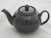 "Rockingham glaze ""Brown Betty"" 2 cup teapot"
