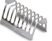 Grunwerg Stainless Steel Chrome Toast Rack holds 8 Toast Slices CK805