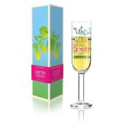 Ritzenhoff Limoncello Aperitif Glass Designed by Veronique Jacquart 2014, Multi-Colour