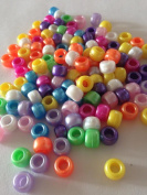 100 Pearl Mixed Pony Beads For loom band craft