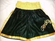 Rocky Balboa Black/Gold boxing shorts Italian Stallion