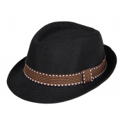 EOZY Kid Children Summer Outdoor Sports Billycock Gangster Vintage Fedora Cap Sun Hat