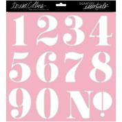 Signature Essentials Stencil 30cm x 30cm -Numbers