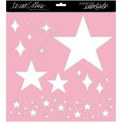 Signature Essentials Stencil 30cm x 30cm -Stars