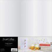 Signature Essentials Clear Sheets 30cm x 30cm 5/Pkg-
