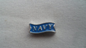 Blue Navy Silver New 2014 Fall Collection Floating Charm for your Origami Owl Living Locket